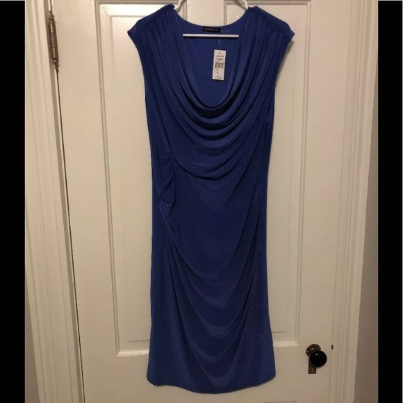 Natori Dresses & Skirts - Josie Natori Drapey Sleeveless Dress NEW Sz Large